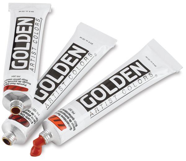Découvrez les avantages des acryliques Golden