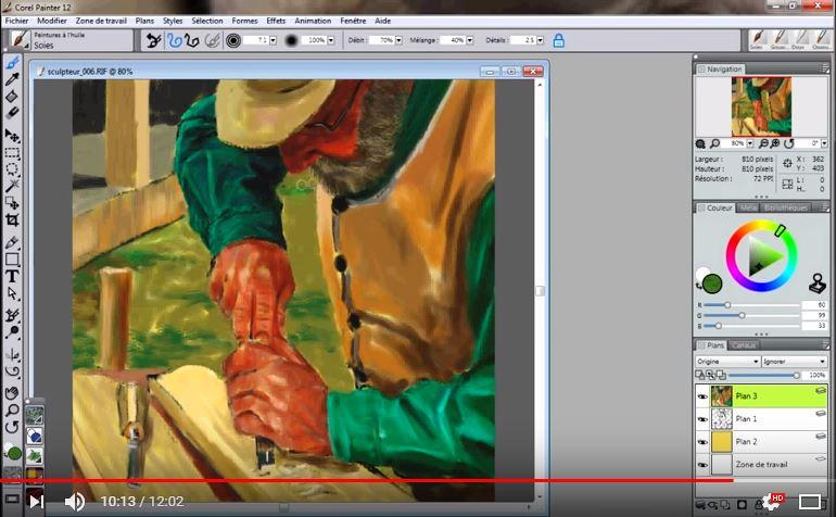 Progressez rapidement grâce aux cours de peinture