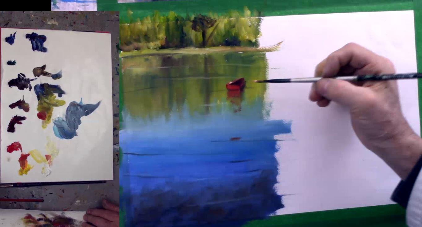 8 astuces pour peindre l'eau dans vos paysages