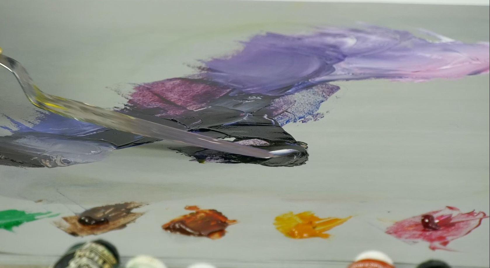 Nouveaux cours de peinture en vidéo
