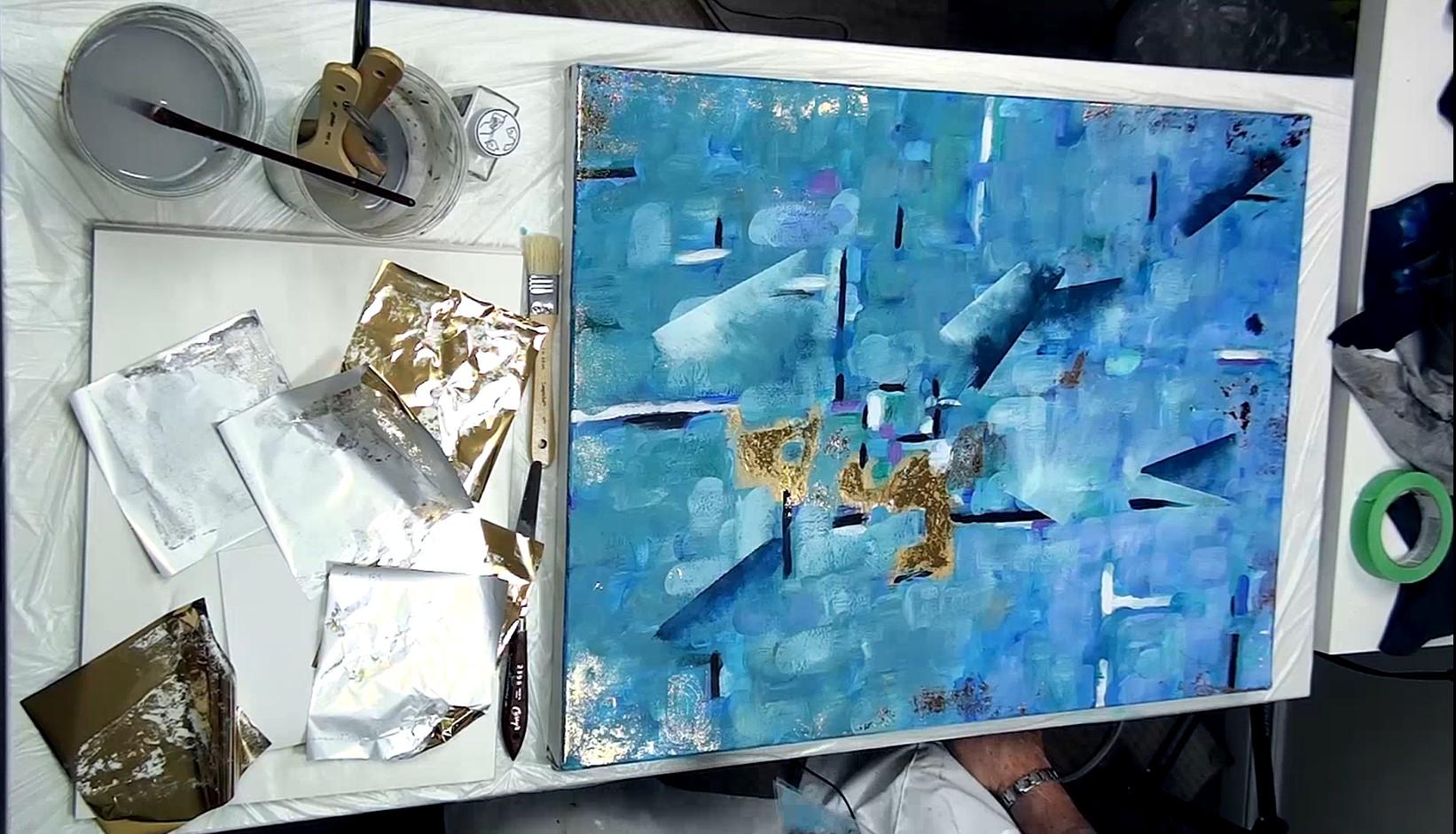 Comment rendre une peinture abstraite plus intéressante ?