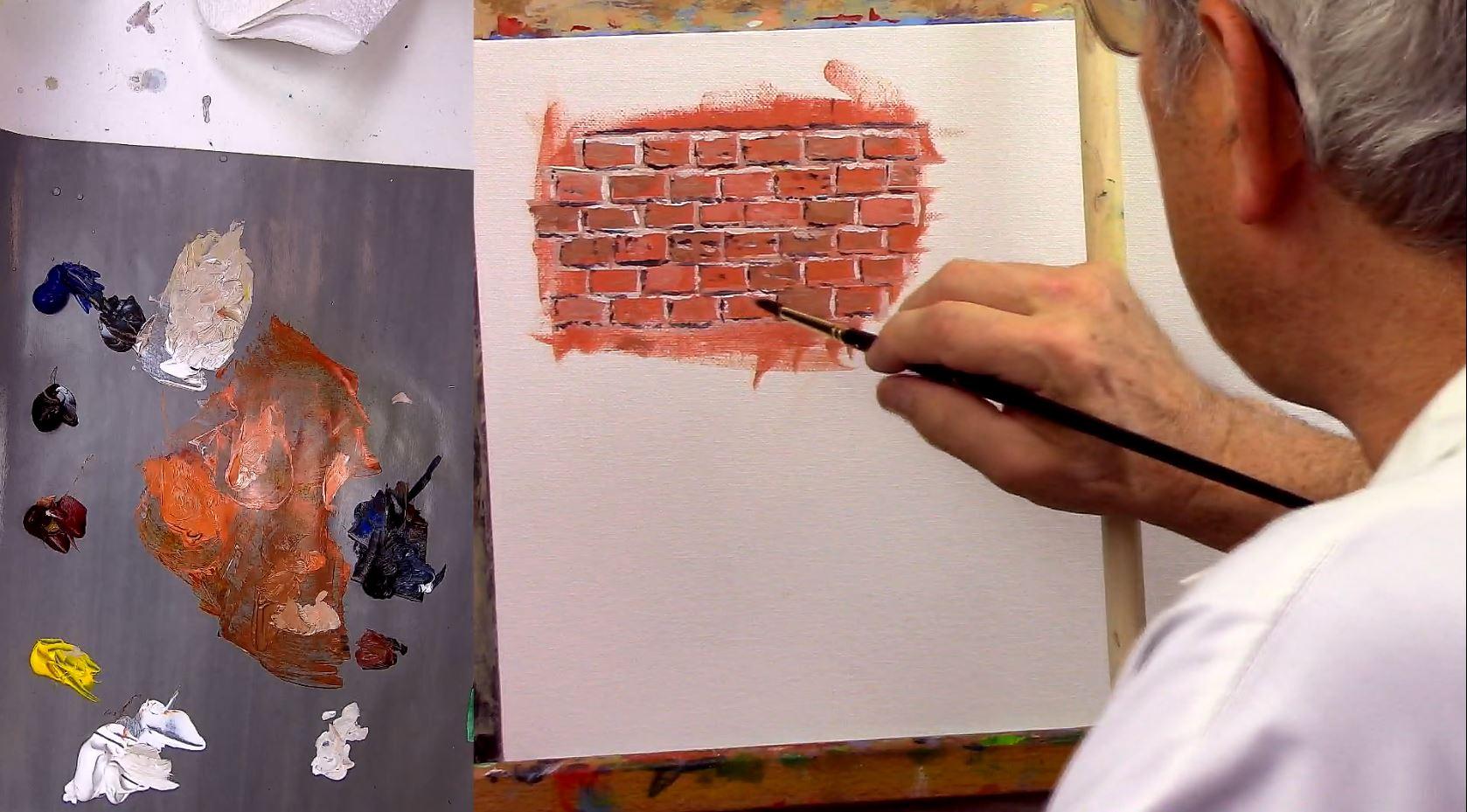 Peindre Un Mur De Brique comment peindre impressionniste ?