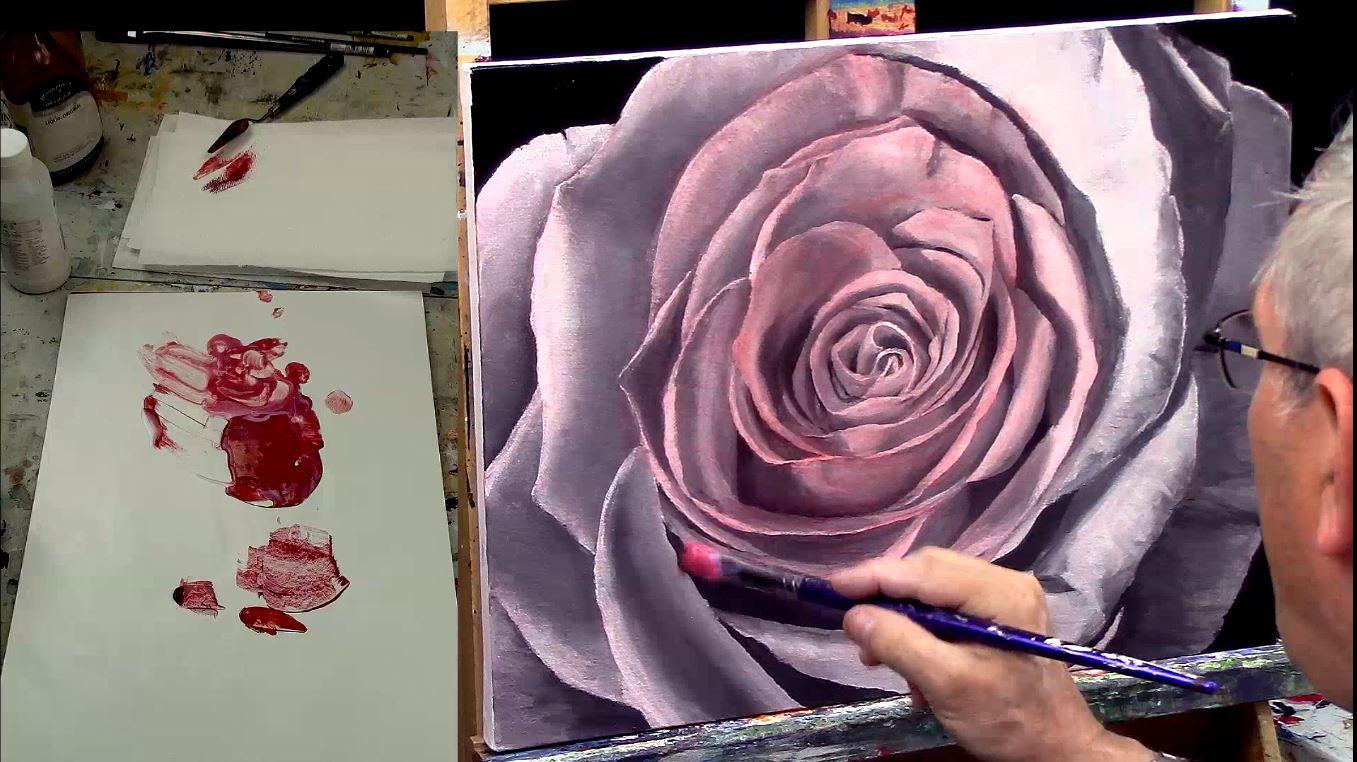 Comment réussir vos glacis en peinture acrylique