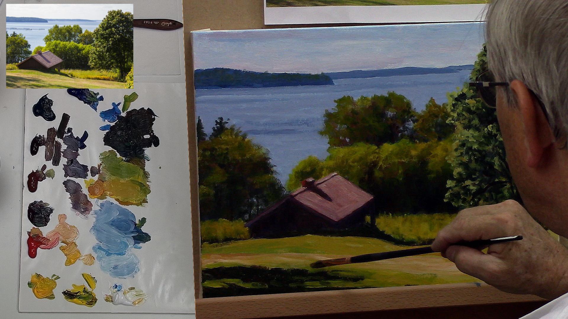 10 trucs pour réussir vos peintures de paysages