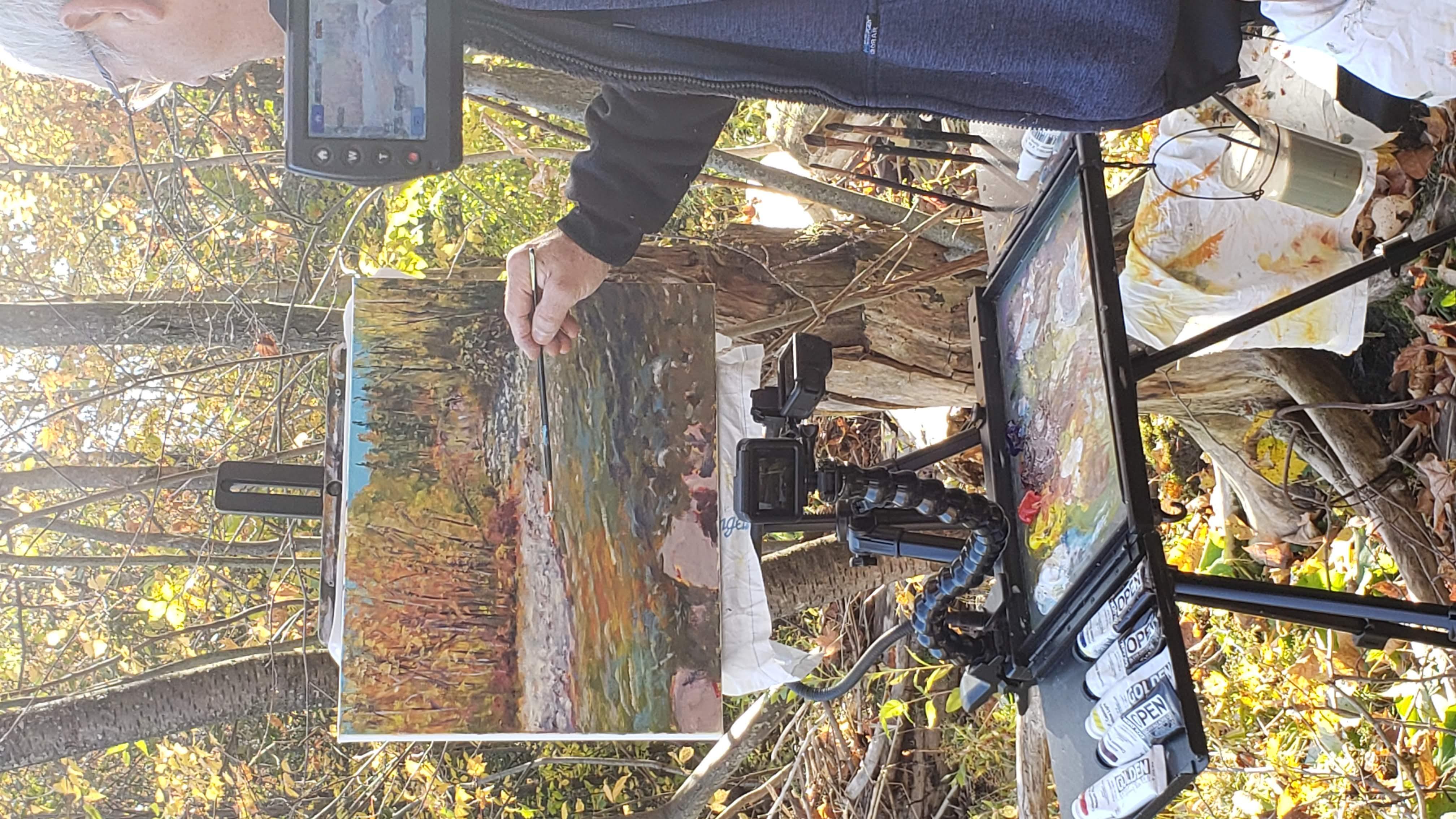 Peindre en plein air ou La peinture de paysage sur le motif