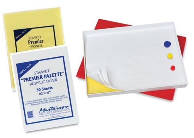 Découvrez les avantages de la palette humide pour l'acrylique et les nouveaux cours de la semaine !