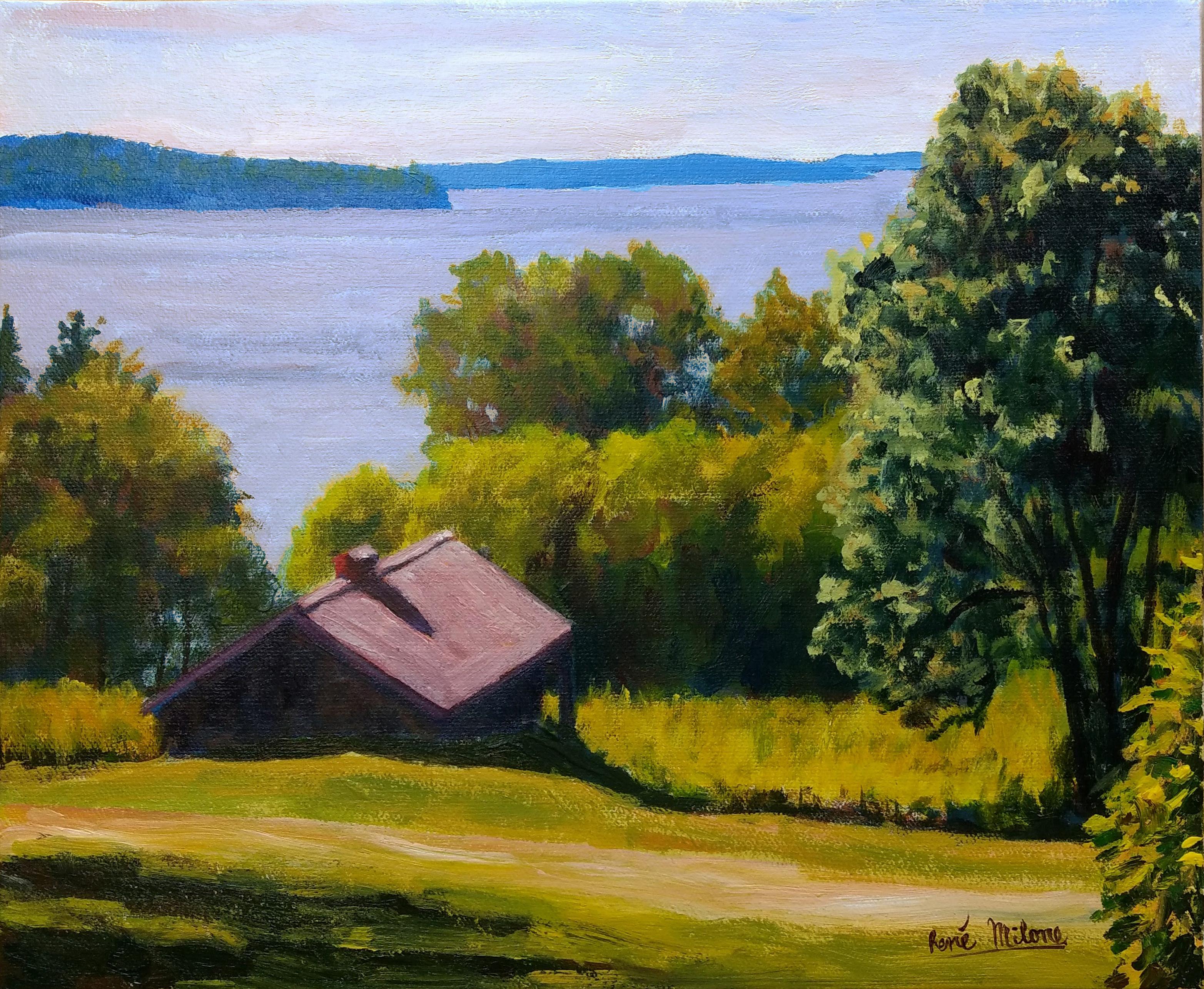 cours de peinture paysage