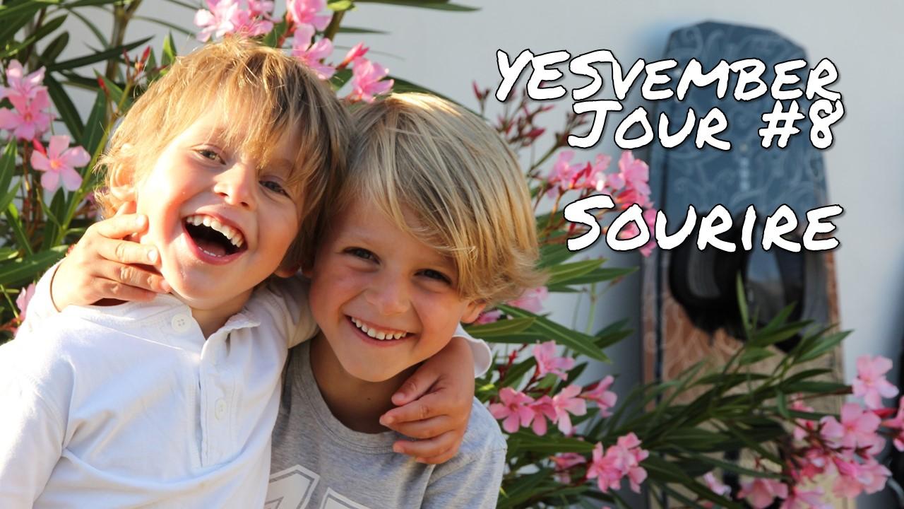 YESvember - Jour #8 : Sourire