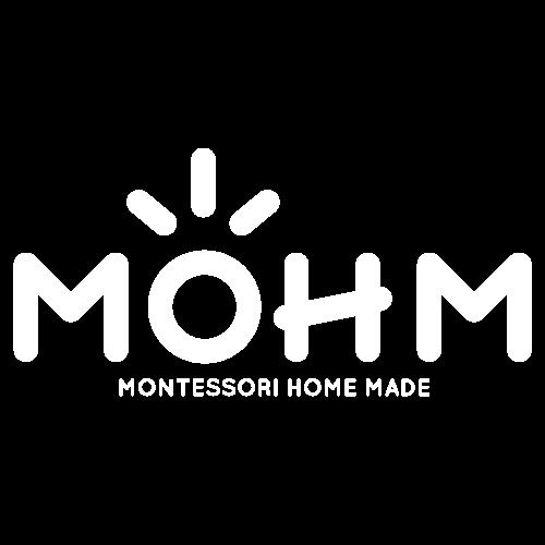 Montessori cours en ligne gratuit éducation pédagogie Maria mohm blanc logo