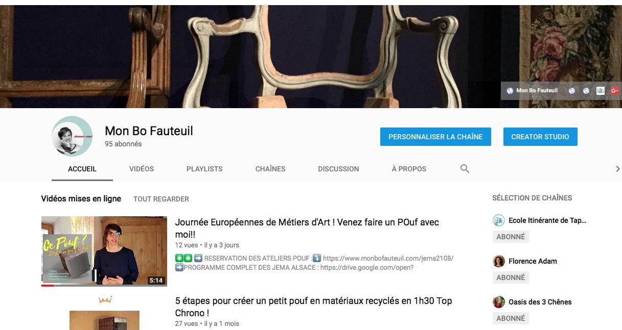 Mon BÔ Fauteuil sur Youtube : ABONNEZ-VOUS!!