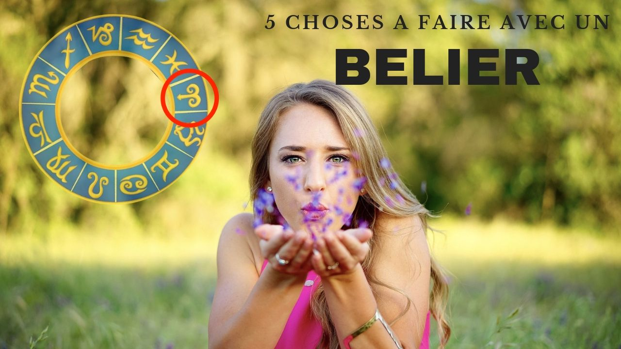 5 choses A FAIRE avec un BELIER