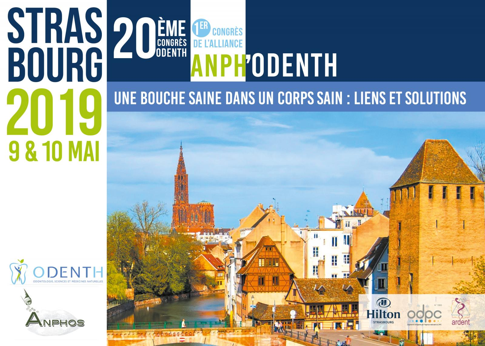 CONGRES ANPH'ODENTH à Strasbourg