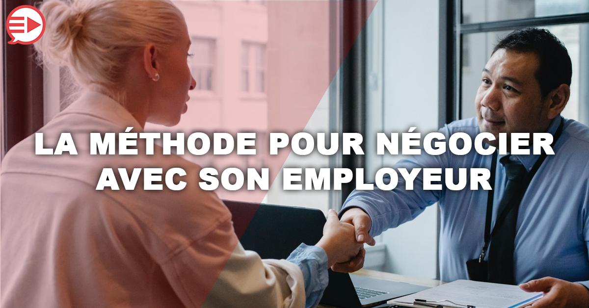 negovideo négociation avec sont employeur