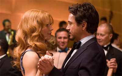 Tony Stark et Pepper Potts