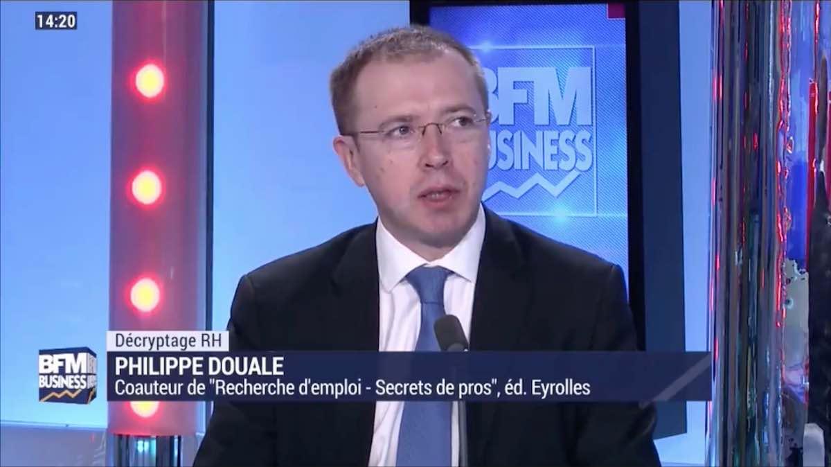 Philippe DOUALE chez BFM Business dans l'émission décryptage RH