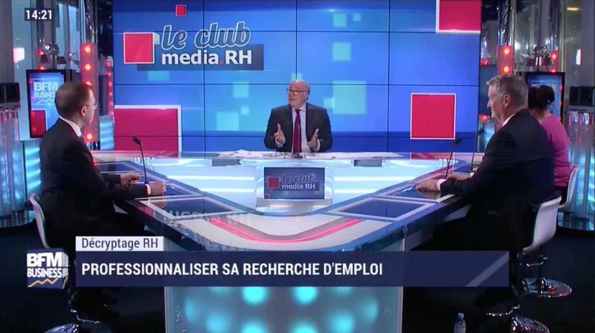 Philippe DOUALE chez BFM Business dans l'émission Le CLub Media RH