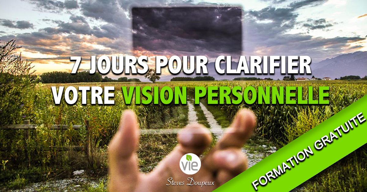 Formation vision personnelle