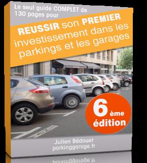 Jaquette de mon livre réussir son premier investissement dans les parkings et les garages