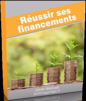 Couverture de mon livre réussir ses financements
