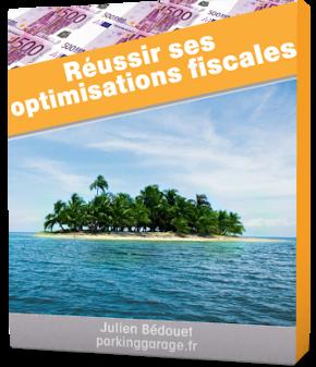 Jaquette de mon livre réussir ses optimisations fiscales