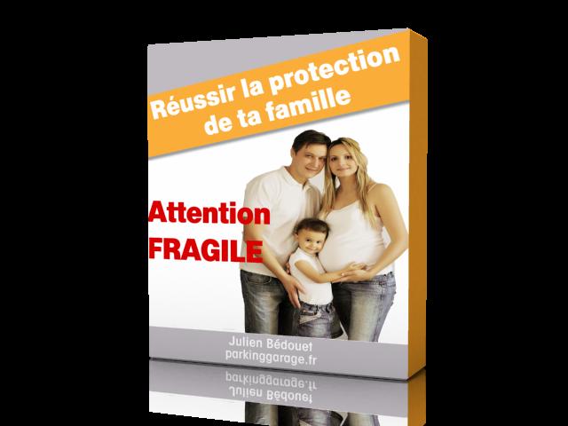 Jaquette de la formation réussir la protection de sa famille