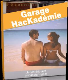 Jaquette de ma formation garage HacKadémie