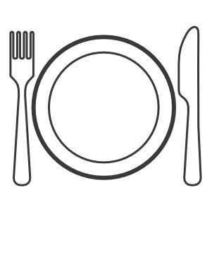 Le potager 3p fv002pdv - Assiette dessin ...