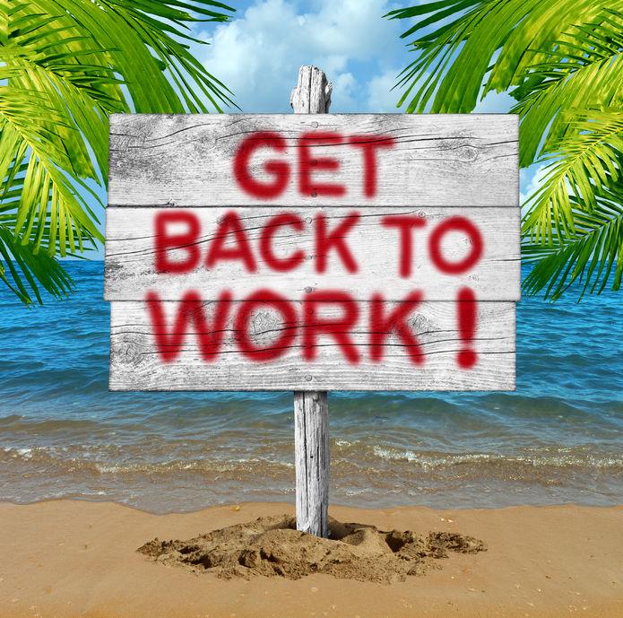 Retour de vacances