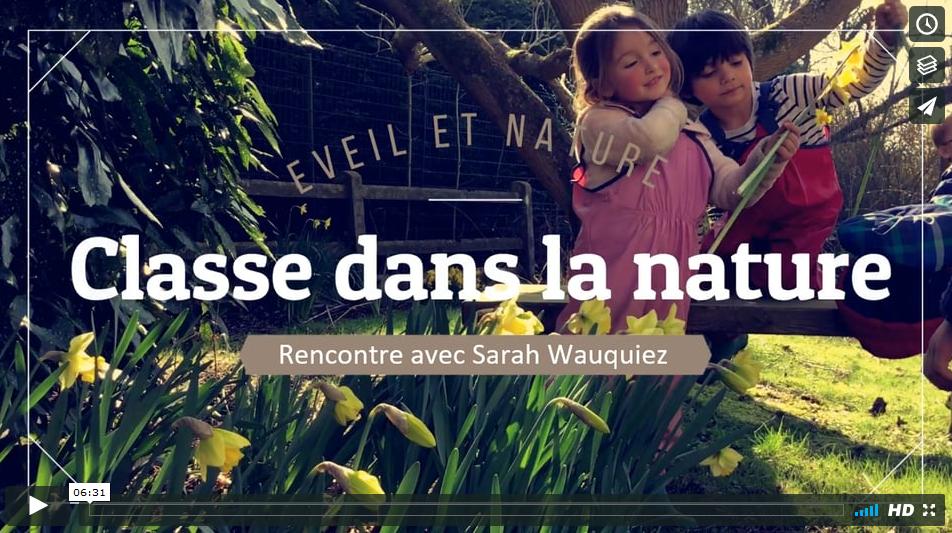 vidéo école nature