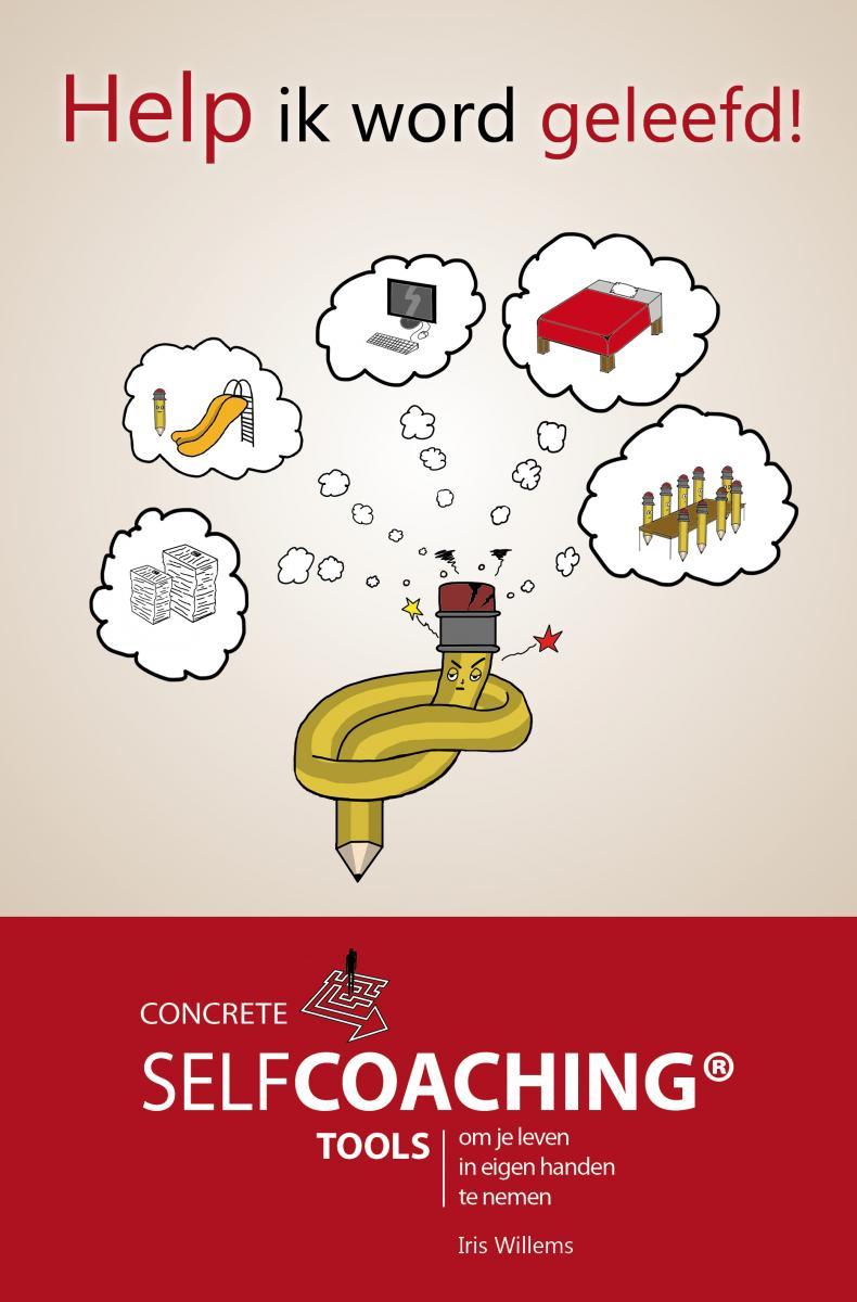 Boek: 'Help ik word geleefd: Concrete selfcoaching tools om je leven in eigen handen te nemen'