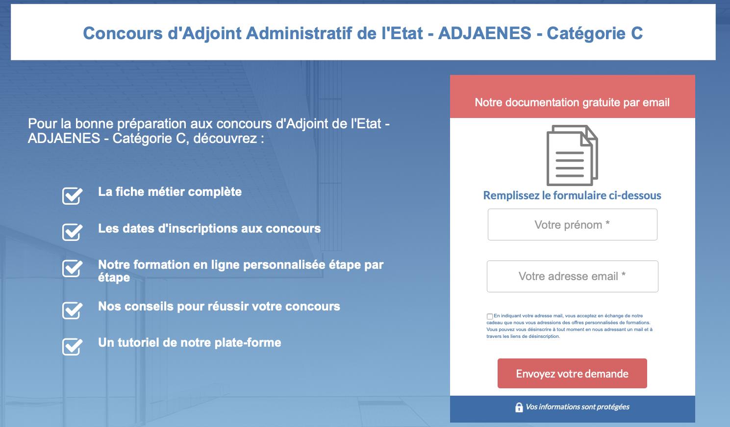 Concours Interne D Adjoint Administratif De L Etat