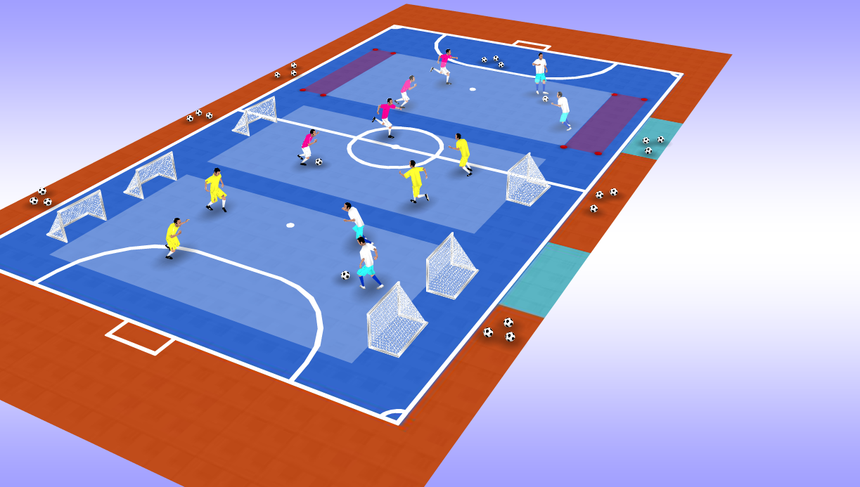 5 exemples d exercices intermittents (spécial FUTSAL)