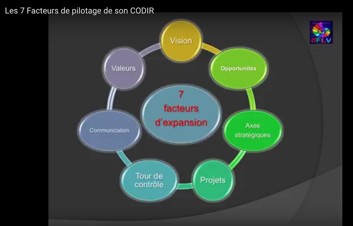 Les 7 Facteurs de pilotage de son CODIR