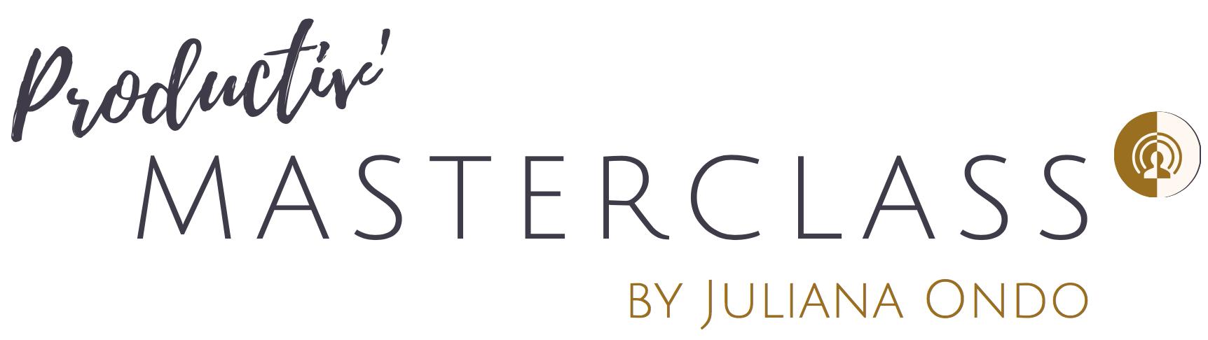 Productiv Masterclass Juliana Ondo