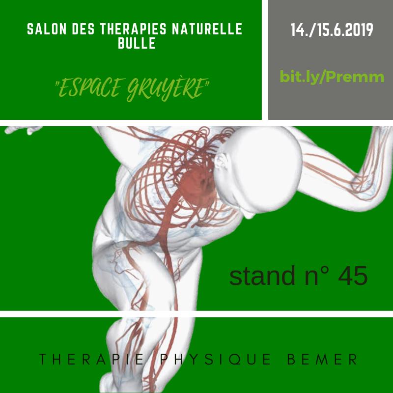 Venez me rendre visite au salon du Mieux Vivre de Fribourg pour une demo
