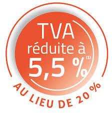 TVA RÉDUITE A 5,5 %