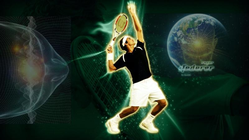 Roger Federer et... la mémoire de l'eau !