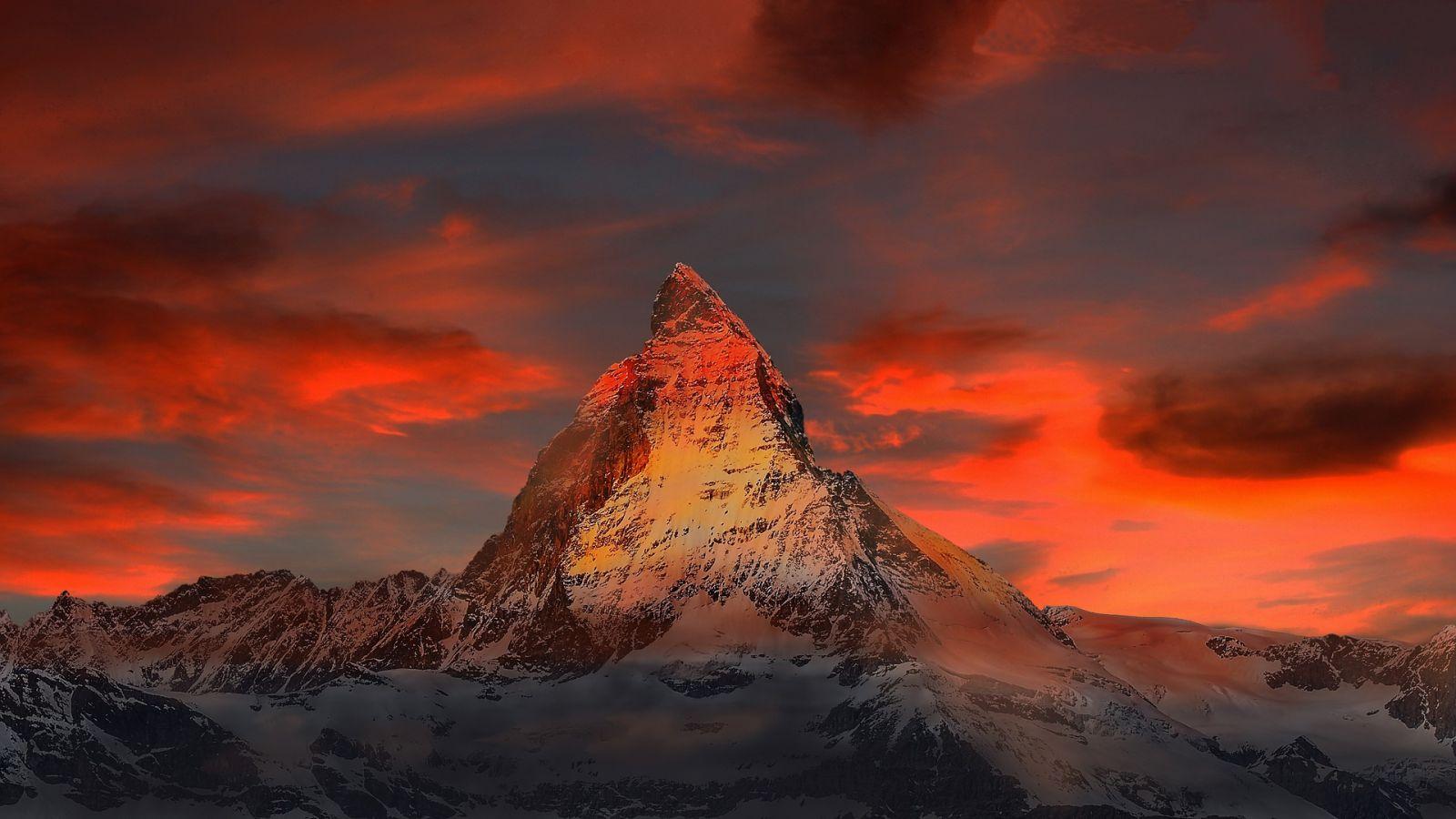 Méditation de la montagne !