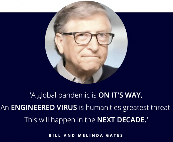 Bill Gates à propos du coronavirus en 2018