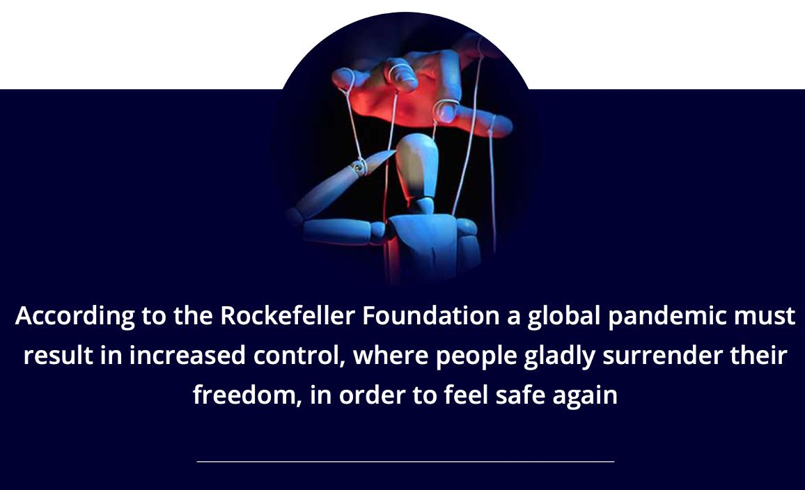 Fondation Rockefeller - coronavirus NWO