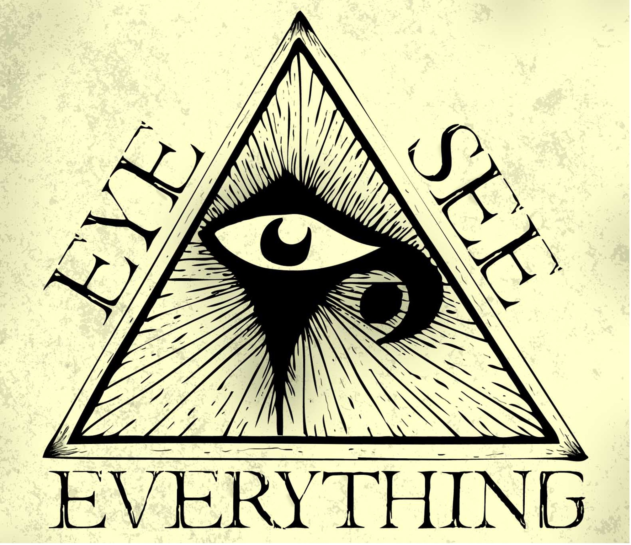 Le symbole et la signification de l'œil omniprésent ~ Distruber