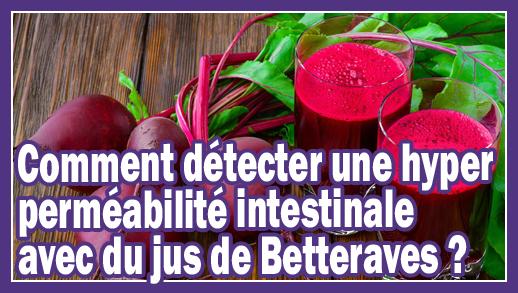 Comment détecter une Hyper Perméabilité Intestinale avec du jus de Betteraves ?