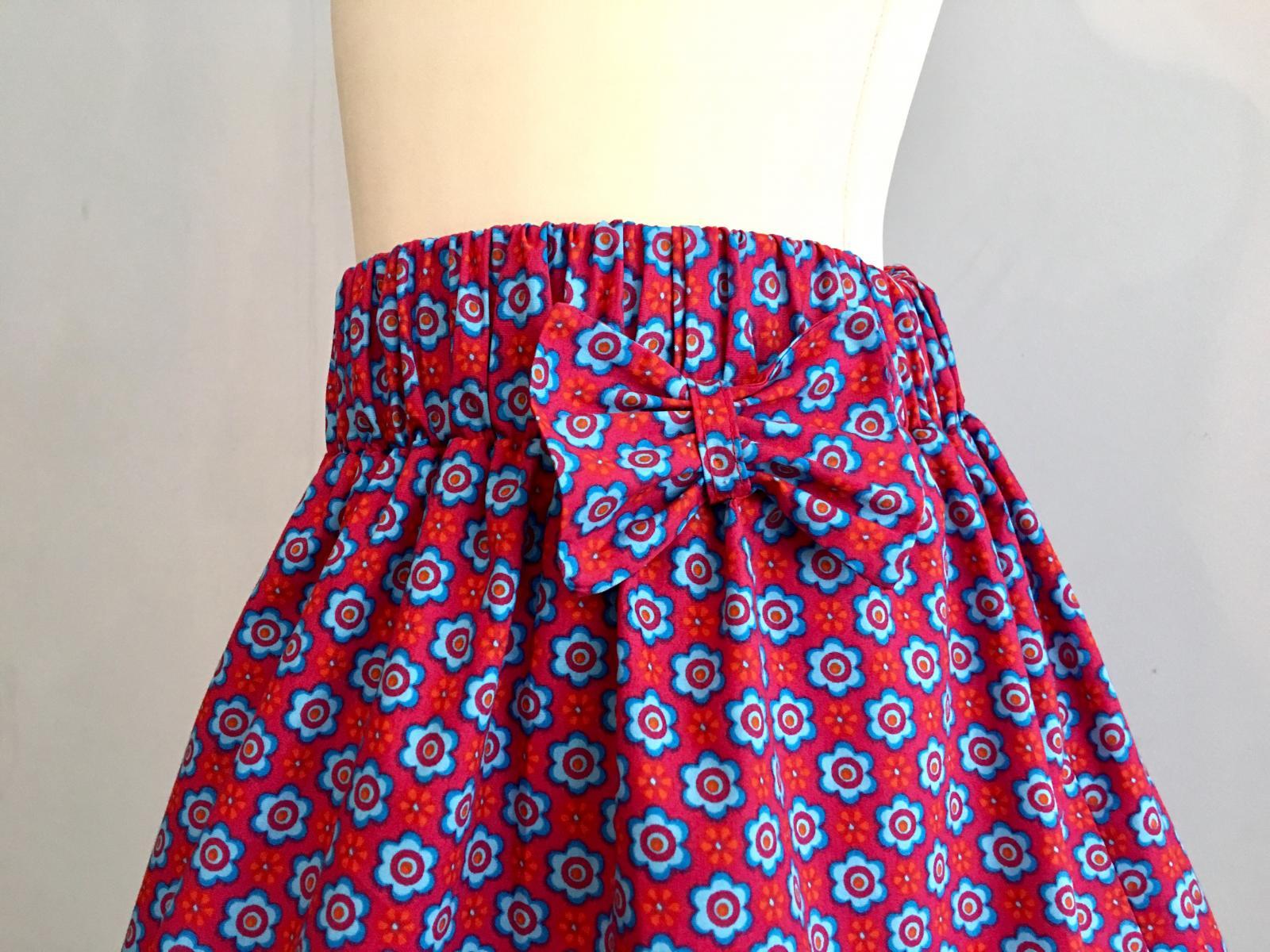 Coudre une jupe à taille élastique