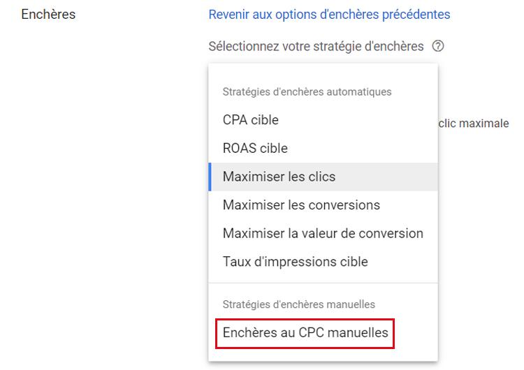 Maximiser les clics google ads