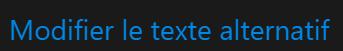 Modifier l'Alt texte dans Shopify