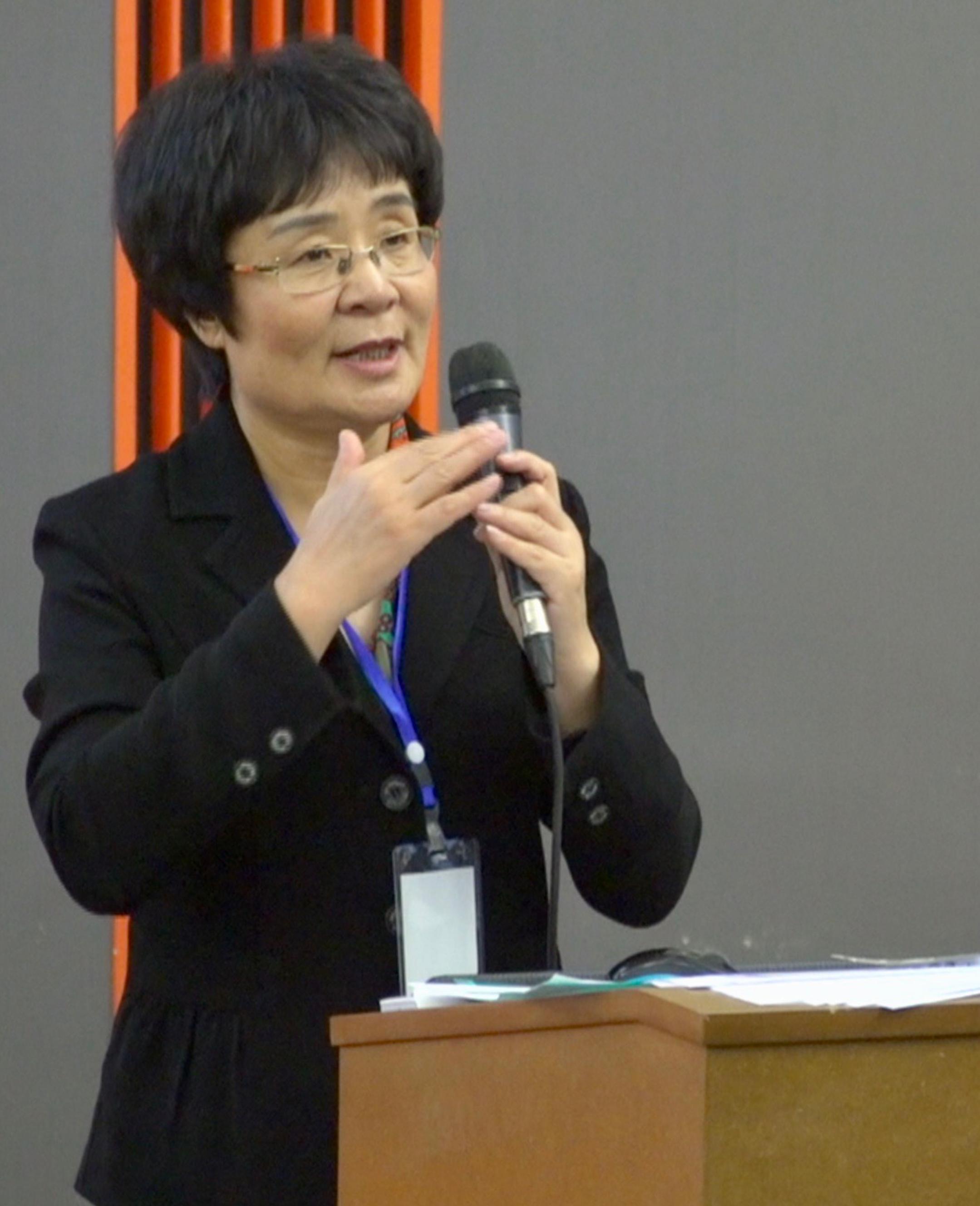Mme Liu - 2e colloque de recherches scientifiques sur le Qigong pour la Santé
