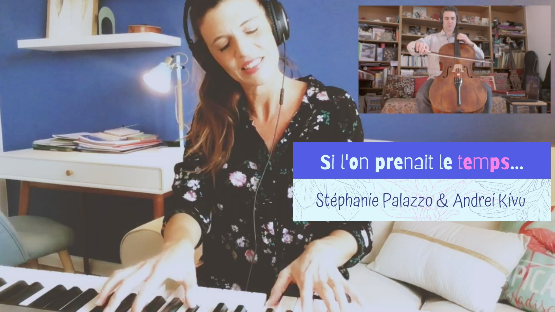 "✨ Home made Song #1 💛 Duo à distance ✨ ""Si l'on prenait le temps..."""