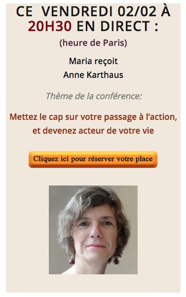 Interview/Conférence Académie Nouvelle Vie