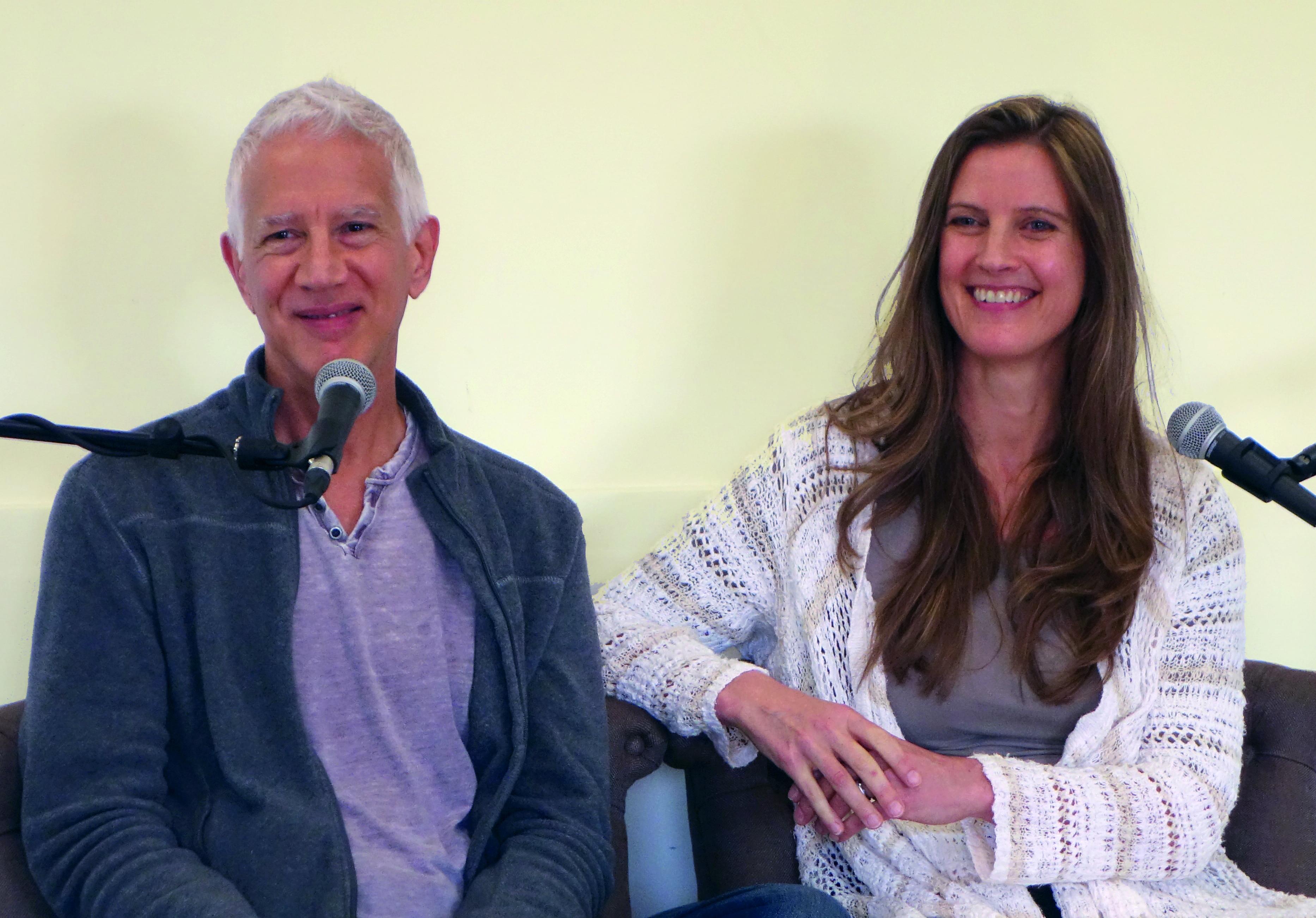 Formation                                                           à la thérapie                                                           non-duelle :                                                           Ken et                                                           Brigitte