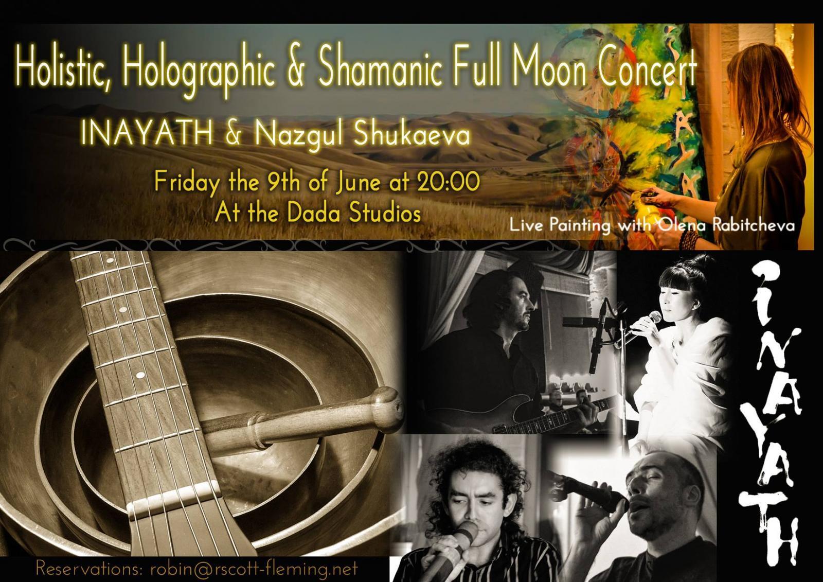 09/06/2017 - Bruxelles (BEL) | Holistic, Holographic & Shamanic Full Moon Concert